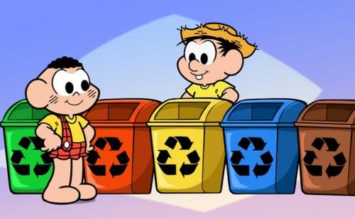 desenhos para a crianÇada aprender a reciclar