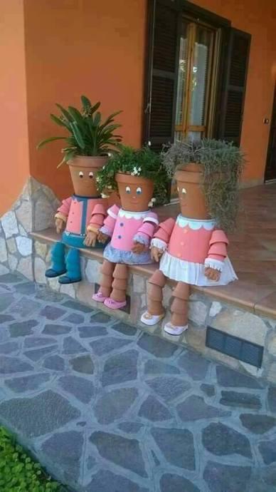 Vasos de bonecos!